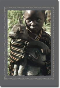 Hands of Hope - Boy Holding Goat Gift Card (7)